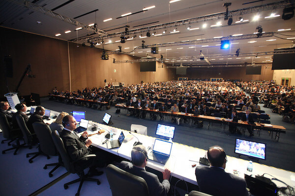 Conference Rental Provided Conference Systems and Interpretation to ITU Plenipotentiary in Guadalajara, Mexico