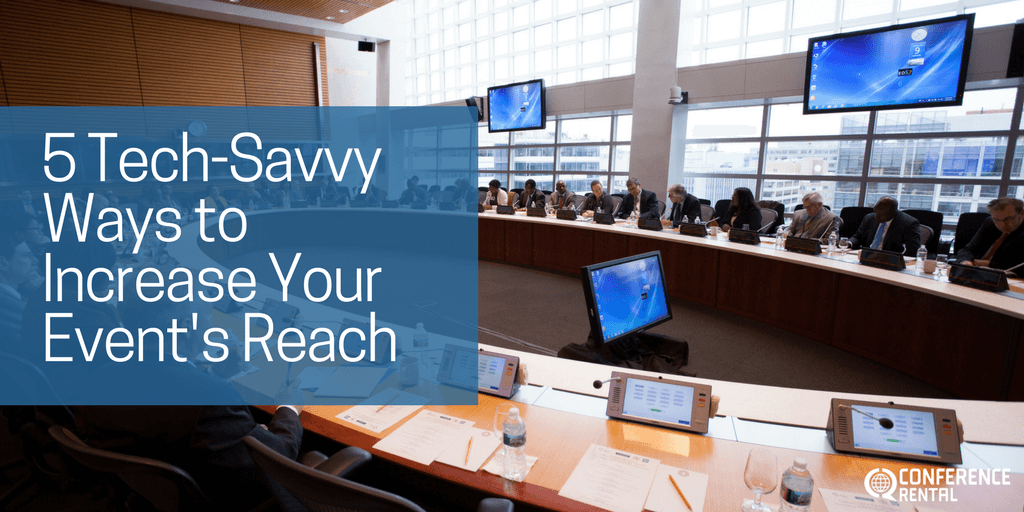 5 Tech-Savvy Ways to Increase Your Event's Reach