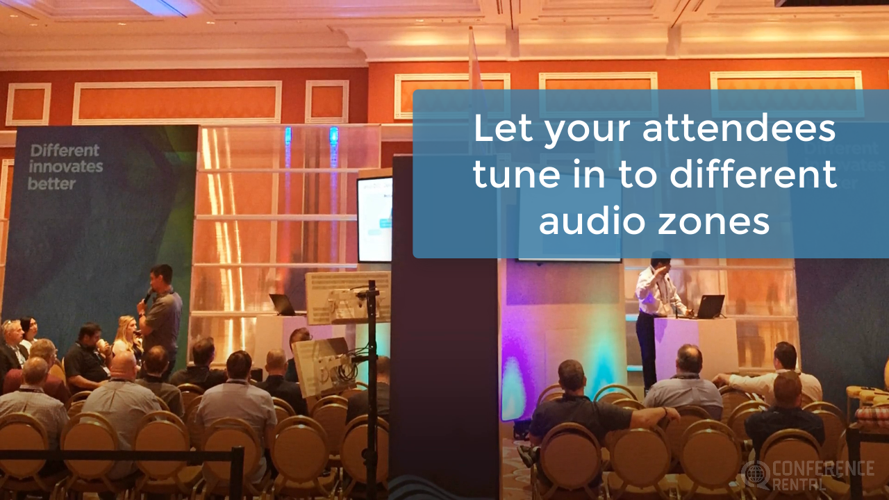 Audio Distribution Solution - Conference Rental