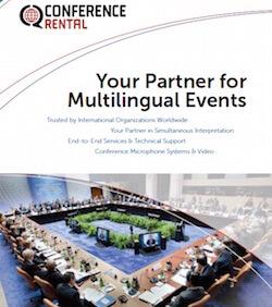 Conference Rental Brochure