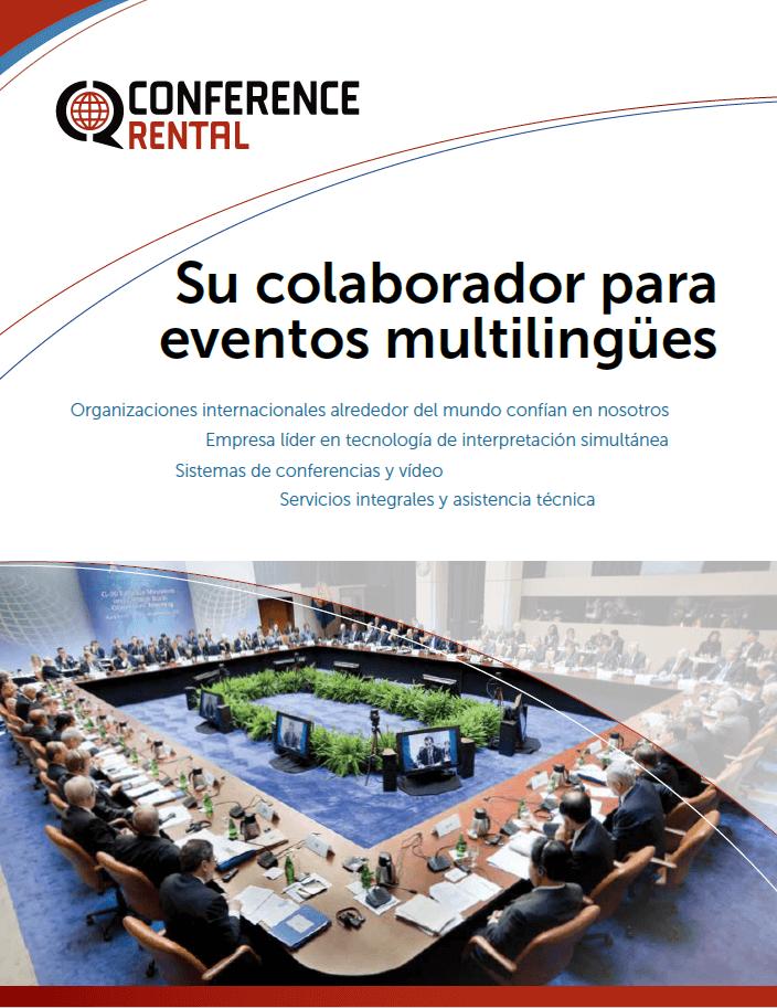 Conf. Rental Brochure (ES)